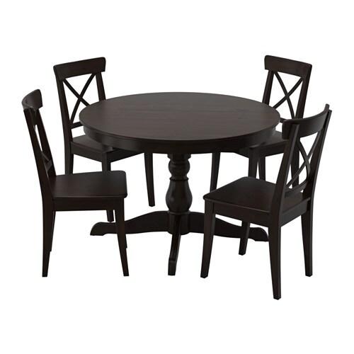 Ingatorp ingolf table et 4 chaises ikea - Ikea tables et chaises ...