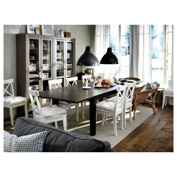 INGOLF chaise blanc 110 kg 43 cm 52 cm 91 cm 43 cm 38 cm 45 cm