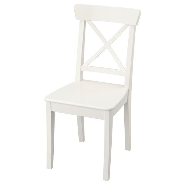 Ingolf Chaise Blanc Ikea