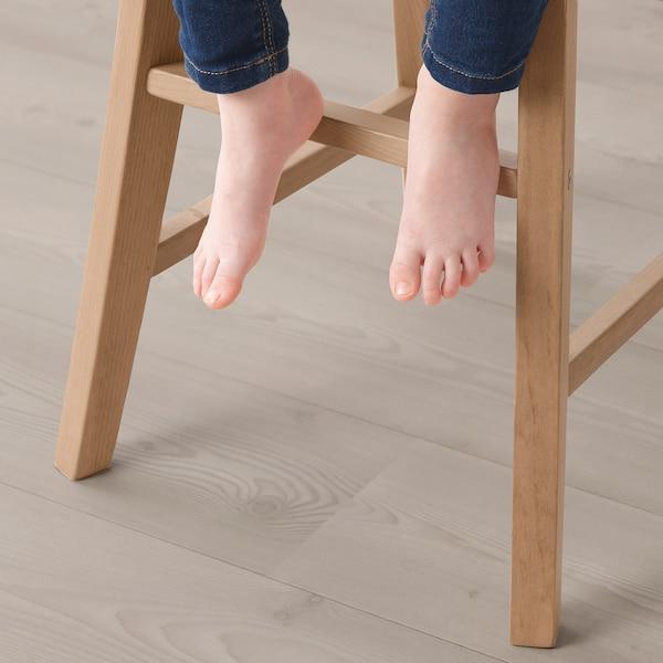 INGOLF Chaise junior, vernis effet anc
