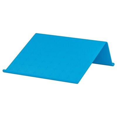 ISBERGET support tablette bleu 25 cm 25 cm 9 cm