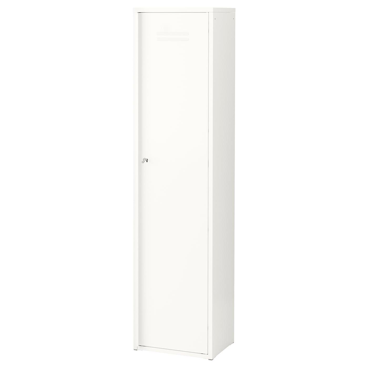 Ivar Armoire 1 Porte Blanc Ikea