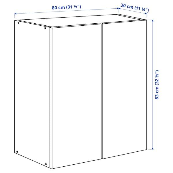 IVAR Élément à porte, pin, 80x30x83 cm