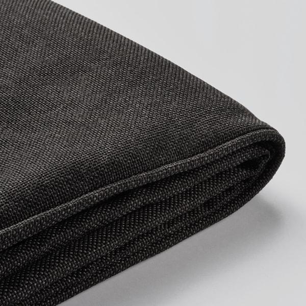 JÄRPÖN Housse pour coussin d'assise, extérieur anthracite, 62x62 cm