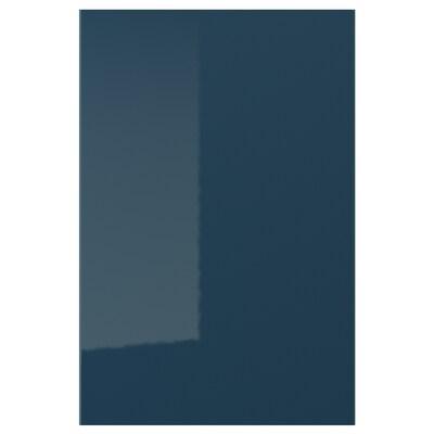 JÄRSTA porte brillant bleu noir 39.7 cm 60.0 cm 40.0 cm 59.7 cm 1.7 cm