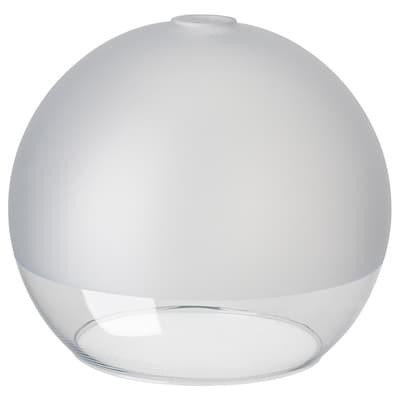 JAKOBSBYN Abat-jour suspension, verre givré, 30 cm
