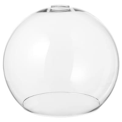 JAKOBSBYN Abat-jour suspension, verre transparent, 30 cm