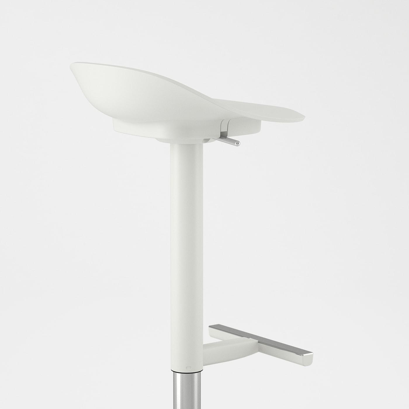 JANINGE Tabouret de bar, blanc IKEA
