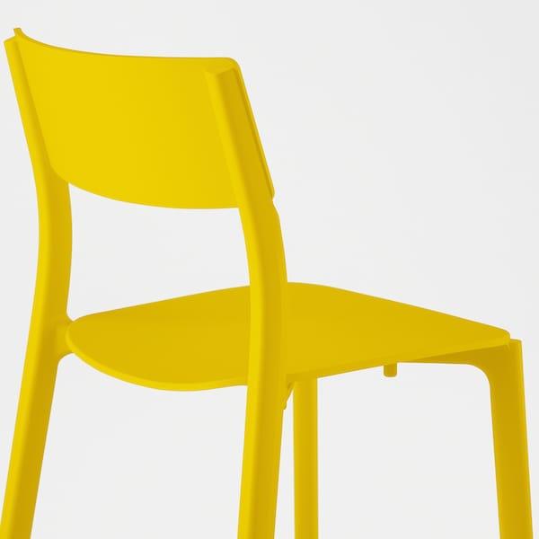 JANINGE chaise jaune 110 kg 50 cm 46 cm 76 cm 40 cm 40 cm 44 cm