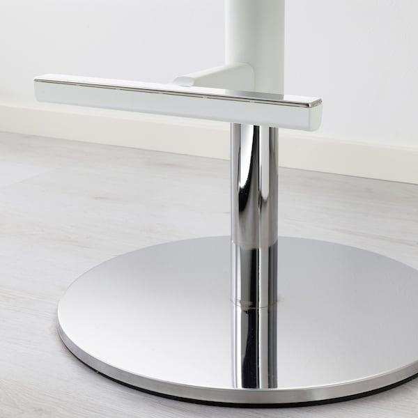 JANINGE Tabouret de bar, blanc, 76 cm