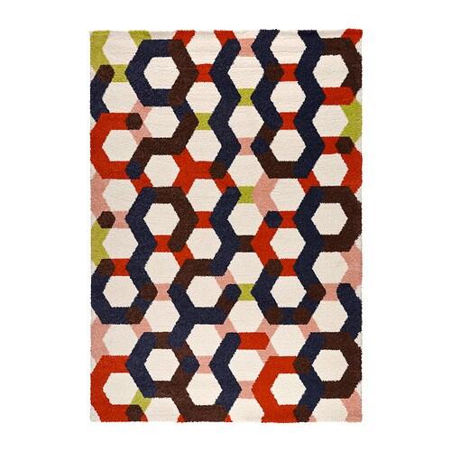 Jernved tapis poils hauts ikea - Tapis multicolore ikea ...