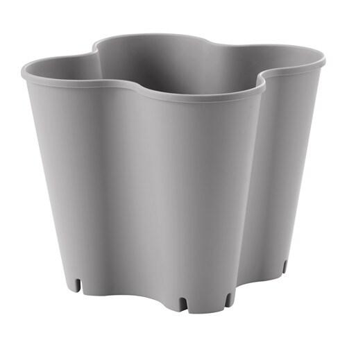 Jordgubbe cache pot ikea - Pot exterieur gris ...