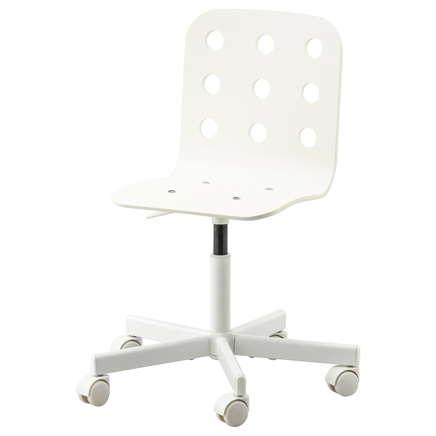 Jules Chaise De Bureau Enfant Blanc Ikea