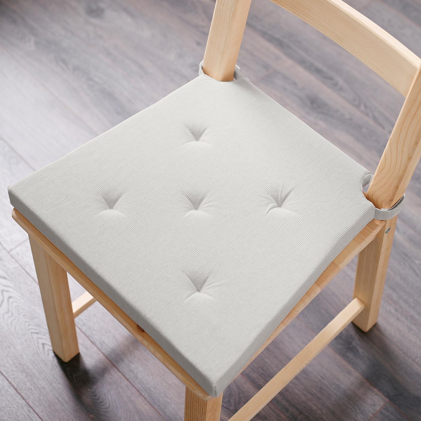 JUSTINA Carreau de chaise, naturel, 3542x40x4 IKEA