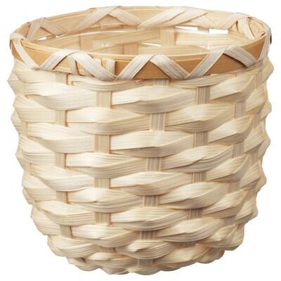 KAFFEBÖNA cache-pot bambou 11 cm 12 cm 9 cm 11 cm