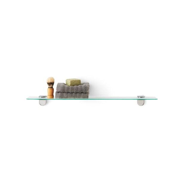 KALKGRUND Étagère en verre, 62x11 cm