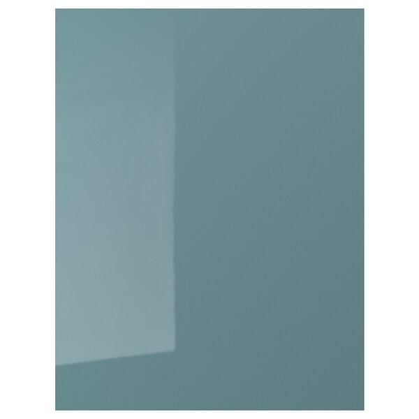 Panneau Latéral De Finition Kallarp Brillant Gris Turquoise