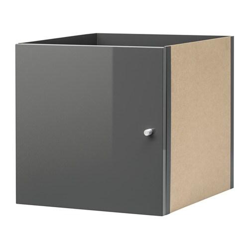 KALLAX Bloc Porte Brillantgris IKEA - Bloc porte ikea
