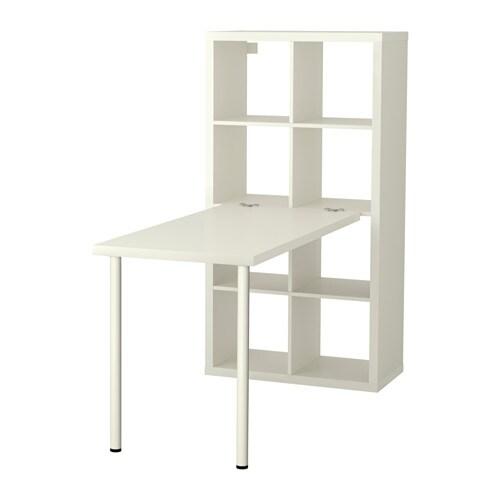 Kallax combinaison bureau blanc ikea - Gambe per tavolo ikea ...