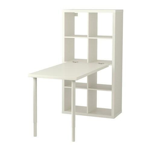 Kallax combinaison bureau blanc ikea - Bureau ikea noir et blanc ...