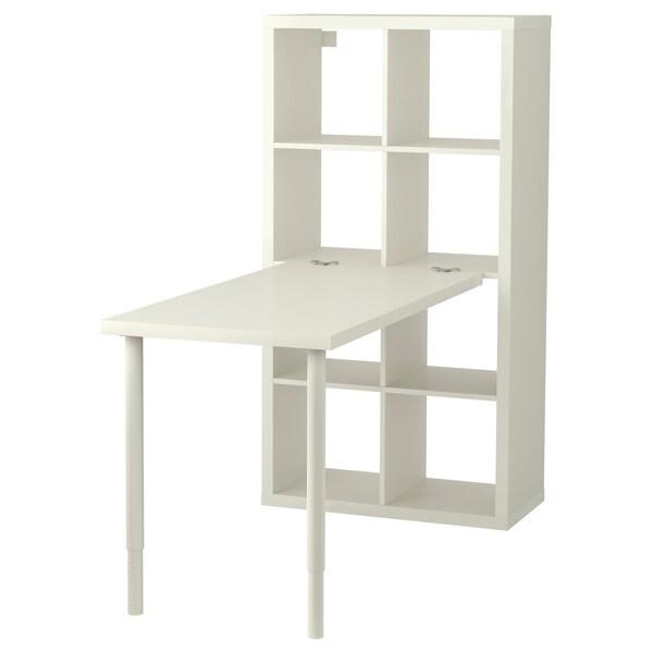 Ajoutez Au Panier Kallax Combinaison Bureau Blanc 77x147x159 Cm Ikea