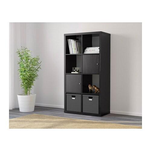 kallax tag re brun noir ikea. Black Bedroom Furniture Sets. Home Design Ideas