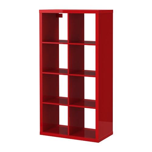 kallax tag re brillant rouge ikea. Black Bedroom Furniture Sets. Home Design Ideas