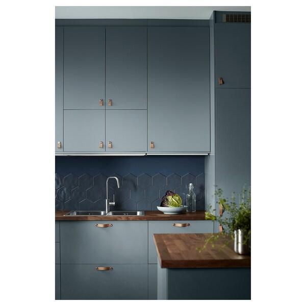 KARLBY Plan de travail sur mesure - noyer, plaqué - IKEA
