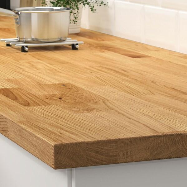 Karlby Plan De Travail Chene Plaque 246x3 8 Cm Ikea