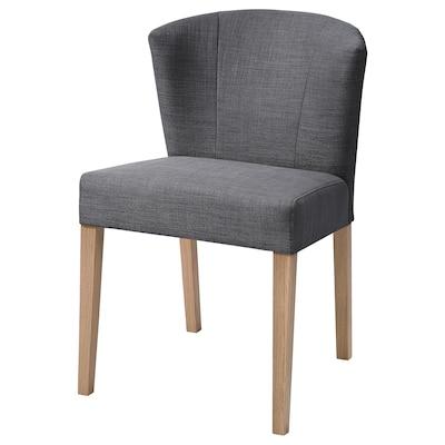 KARLERIK chaise chêne/Skiftebo gris foncé 56 cm 46 cm 82 cm 52 cm 40 cm 46 cm