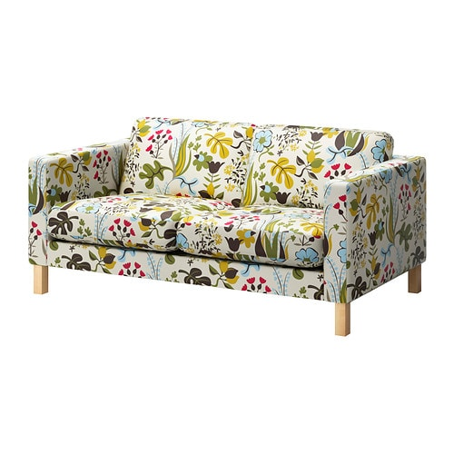 karlstad housse de canap 2pla blomsterm la multicolore ikea. Black Bedroom Furniture Sets. Home Design Ideas