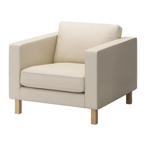 Karlstad housse de fauteuil isefall cru ikea for Housse de fauteuil ikea