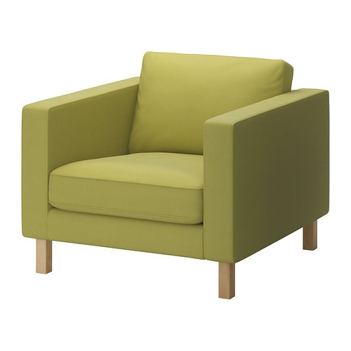 karlstad housse de fauteuil sivik jaune vert ikea. Black Bedroom Furniture Sets. Home Design Ideas