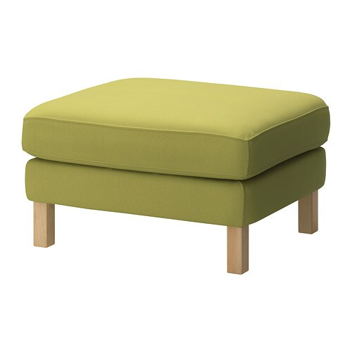 Karlstad housse repose pieds sivik jaune vert ikea for Housse de tabouret ikea karlstad