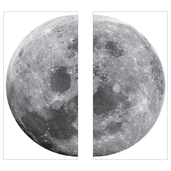 KINNARED Décorations adhésives, Lune