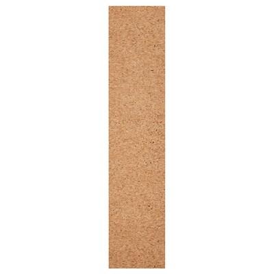 KIRKENES porte avec charnières placage de liège 49.5 cm 229.4 cm 236.4 cm 1.6 cm