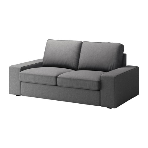 kivik canap 2 places svanby gris ikea. Black Bedroom Furniture Sets. Home Design Ideas