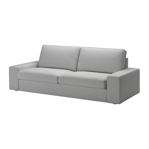 Kivik canap 3 places orrsta gris clair ikea for Ikea sofas en cuir