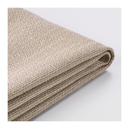 Kivik housse de canap 2pla hillared beige ikea for Housses de canape ikea