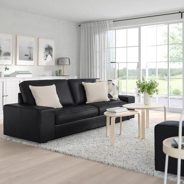 KIVIK Canapé 3 places, Grann/Bomstad noir - IKEA