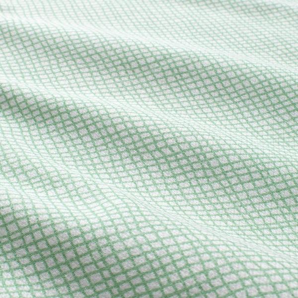 KLÄMMIG petite serviette vert/blanc 30 cm 30 cm 3 pièces