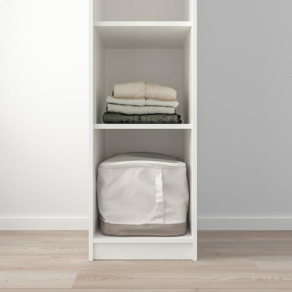 KLEPPSTAD Armoire ouverte, blanc, 39x176 cm