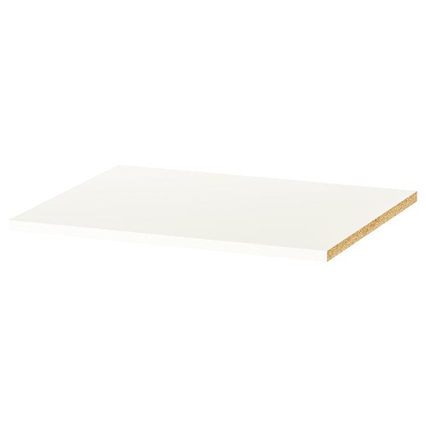KLEPPSTAD Tablette, blanc, 56x50 cm