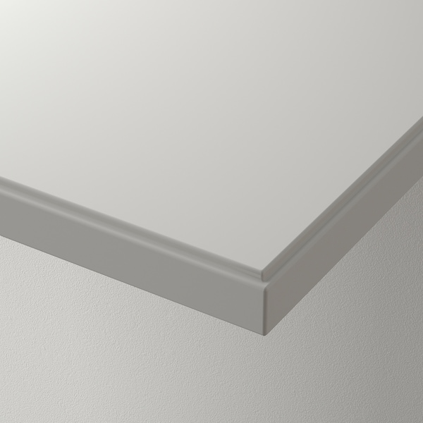 KLIMPEN Plateau, gris clair, 150x75 cm