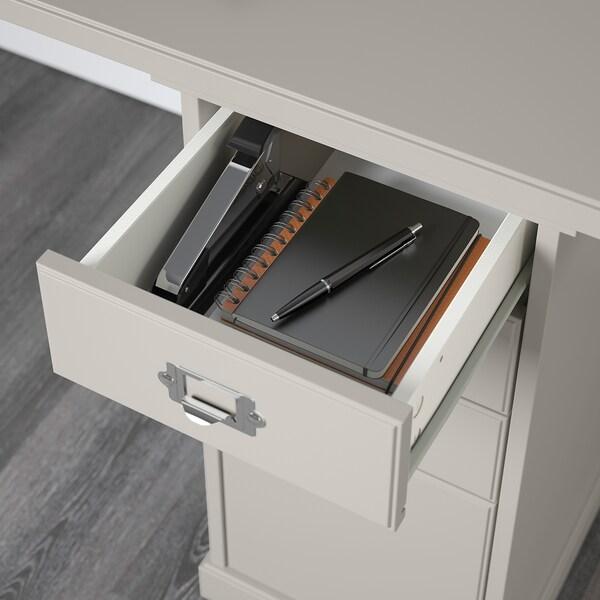 KLIMPEN table gris clair 120 cm 60 cm 73 cm 50 kg