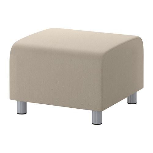 klippan housse pour pouf dansbo beige ikea. Black Bedroom Furniture Sets. Home Design Ideas