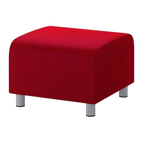 klippan housse pour pouf dansbo rouge moyen ikea. Black Bedroom Furniture Sets. Home Design Ideas