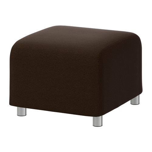 klippan pouf korndal brun ikea. Black Bedroom Furniture Sets. Home Design Ideas