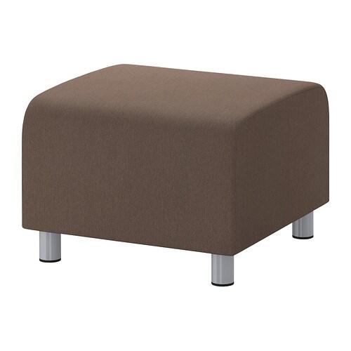 klippan pouf dansbo brun moyen ikea. Black Bedroom Furniture Sets. Home Design Ideas