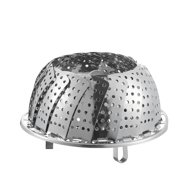 KLOCKREN panier vapeur acier inoxydable 5.5 cm 24 cm